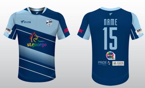 2016 SRFC Jersey - Blue