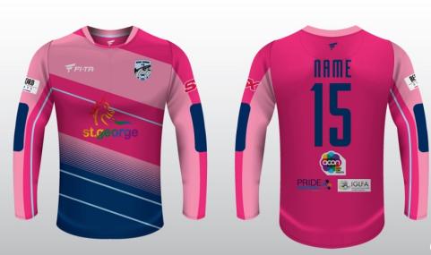 2016 SRFC Jersey - Pink